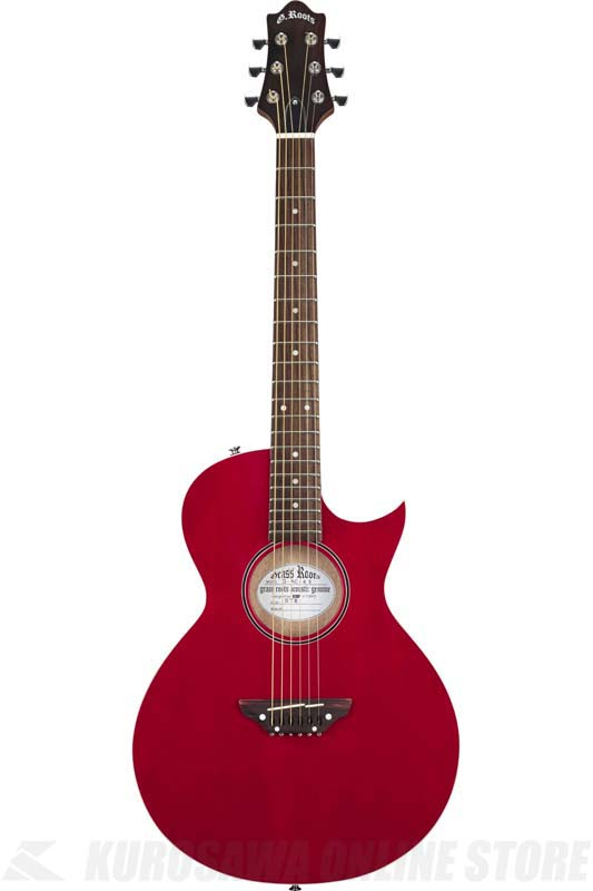 GrassRoots Acoustic Series G-AC-45 (See Thru Red)(アコースティックギター)(送料無料)【ONLINE STORE】