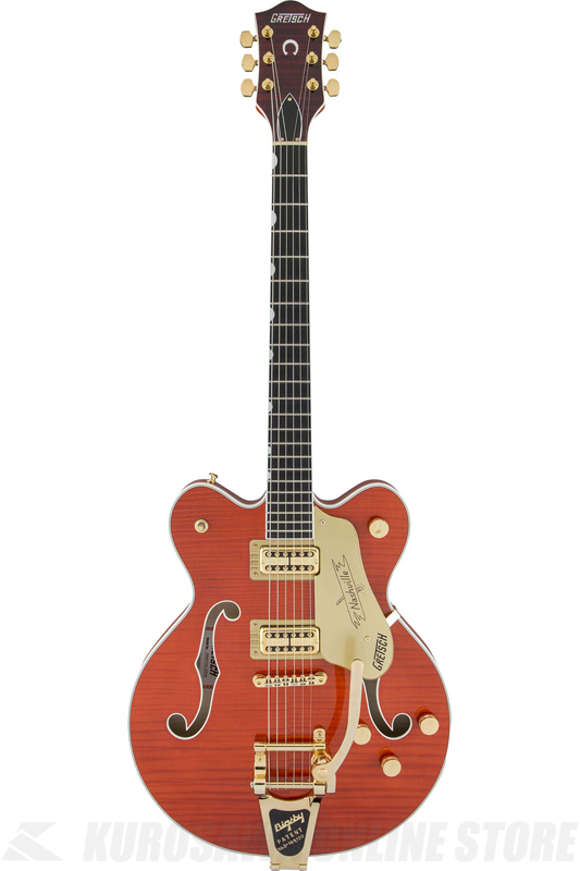 Gretsch G6620TFM Players Edition Nashville Center Block Double-Cut (Orange Stain) 《エレキギター》【送料無料】【ONLINE STORE】