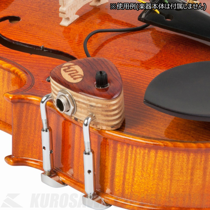 KNA Pickups Pickup VV-2 - Violin/ Viola Piezo Pick-up with 1/4