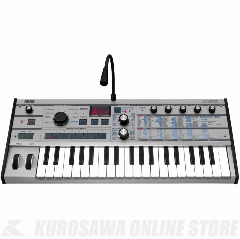 KORG MICROKORG-PT Platinum (シンセサイザー)(送料無料)【ONLINE STORE】
