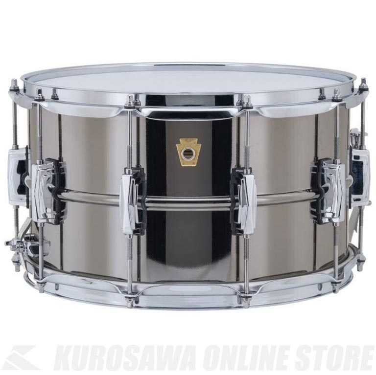 Ludwig Black Beauty Series LB408《スネアドラム》【送料無料】【ONLINE STORE】