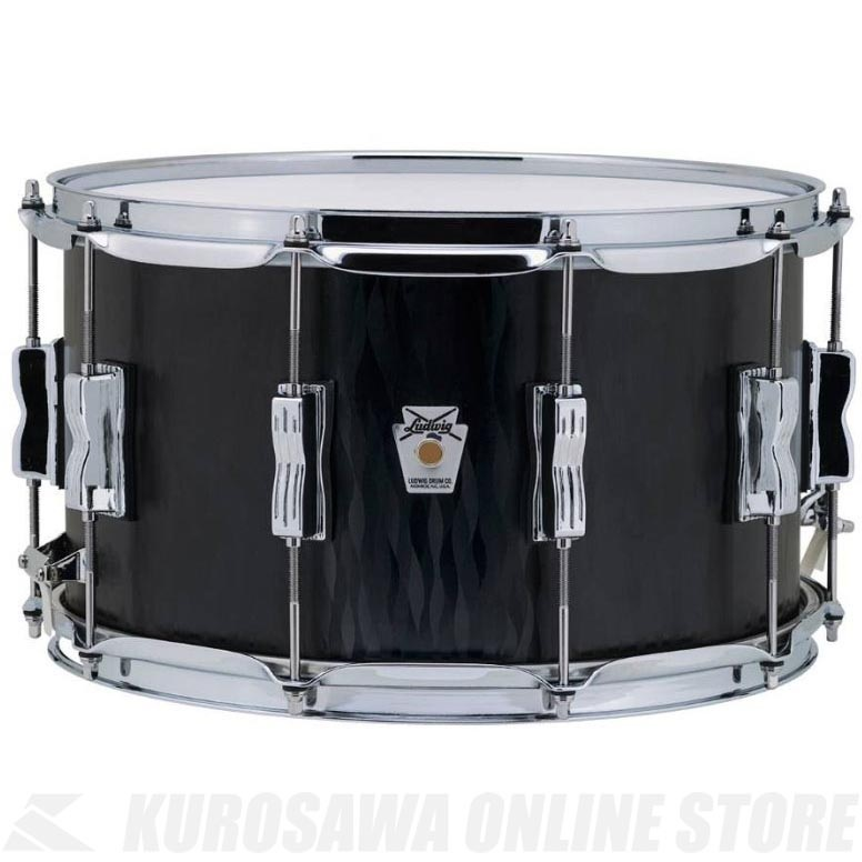 Ludwig Standard Maple Series LKS784XXBF Black Flame《スネアドラム》【送料無料】【ONLINE STORE】