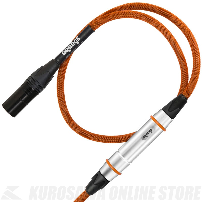 Orange CA-TWIST-XX-MIC-OR-20 Tangle Free 20 ft Mic XLR/XLR Cable (XLRメス-XLRオス) 《マイクケーブル》【ONLINE STORE】