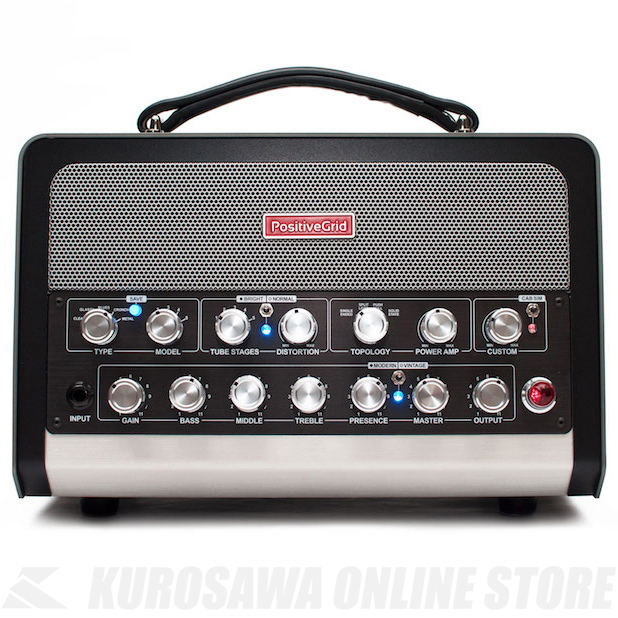 Positive Grid BIAS Head 600W AMP MATCH AMPLIFIER (モデリングアンプ)(送料無料)【ONLINE STORE】