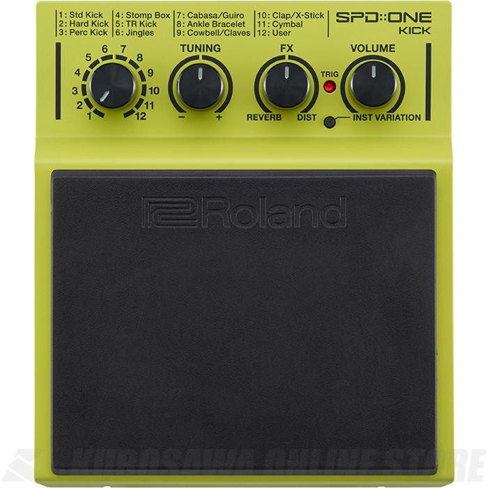 Roland SPD::ONE Series SPD-1K Kick (パーカッションパッド)(送料無料)【ONLINE STORE】