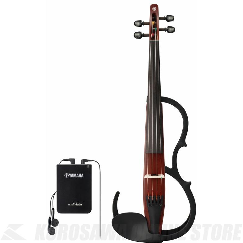 YAMAHA Silent Violin YSV104S BR 弓・ハードケース・松脂付きセット 《サイレントバイオリン》【送料無料】【ONLINE STORE】