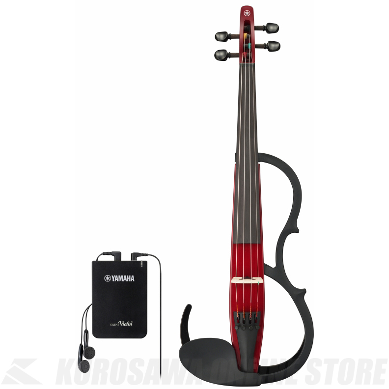 YAMAHA Silent Violin YSV104S RD 弓・ハードケース・松脂付きセット 《サイレントバイオリン》【送料無料】【ONLINE STORE】