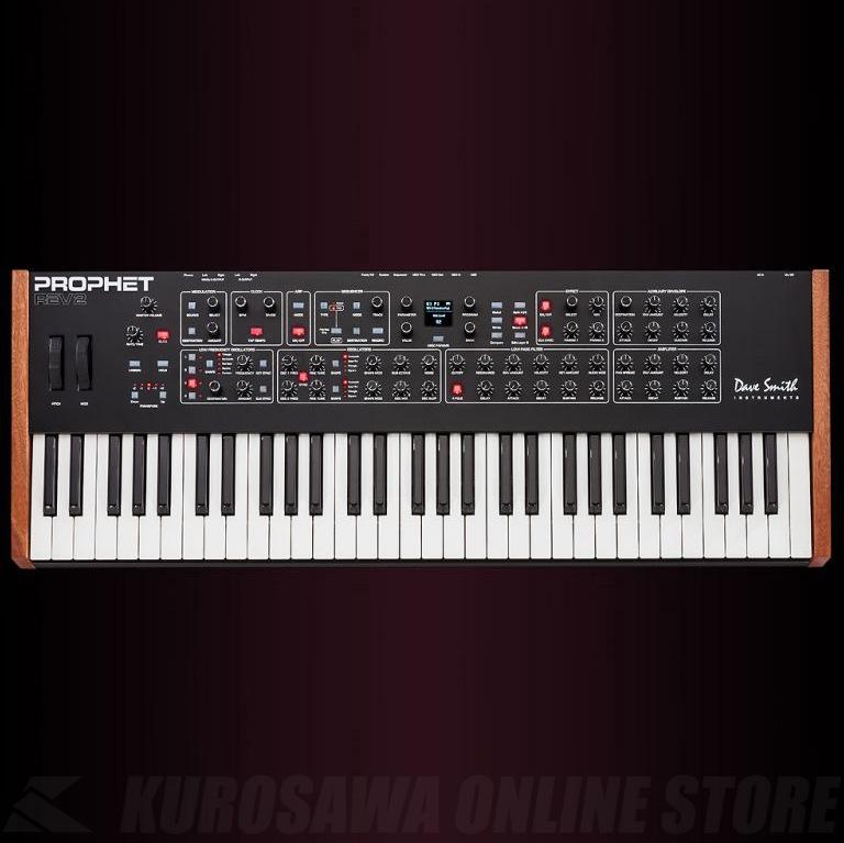 Dave Smith Instruments Prophet Rev2_8V 8ボイス (シンセサイザー)(送料無料) 【ONLINE STORE】