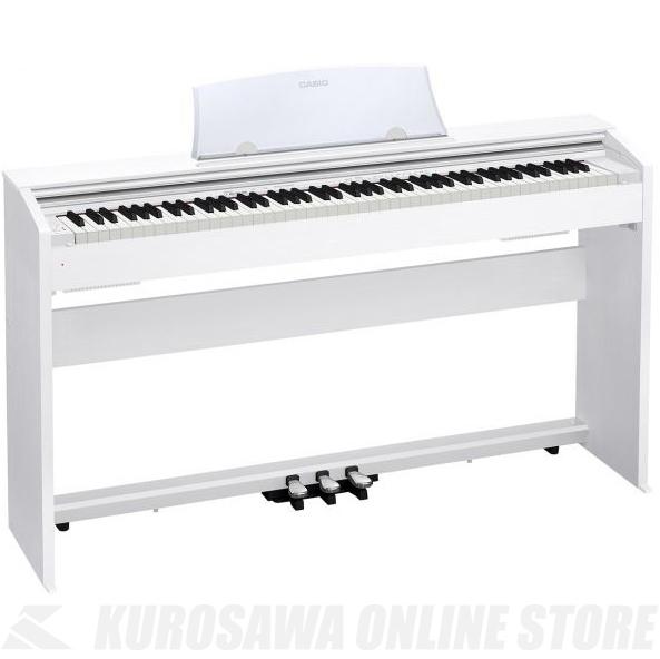 Casio PX-770 WE ホワイトウッド調 (デジタルピアノ)(配送設置料無料) 【ONLINE STORE】
