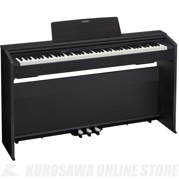 Casio PX-870 BK ブラックウッド調 (デジタルピアノ)(配送設置料無料) 【ONLINE STORE】