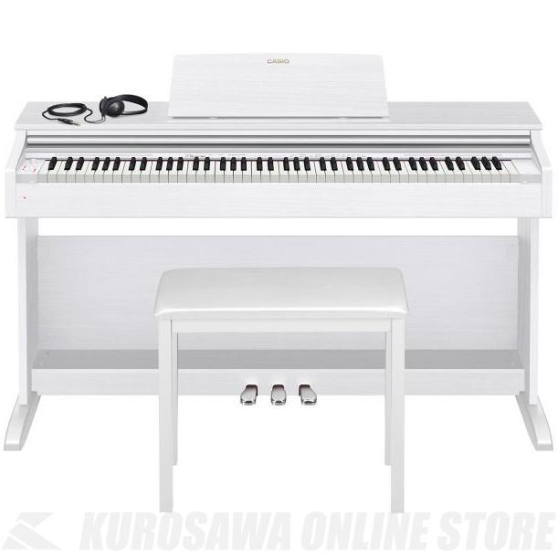 Casio CELVIANO AP-270 WE ホワイトウッド調 (デジタルピアノ)(配送設置料無料)(ご予約受付中) 【ONLINE STORE】