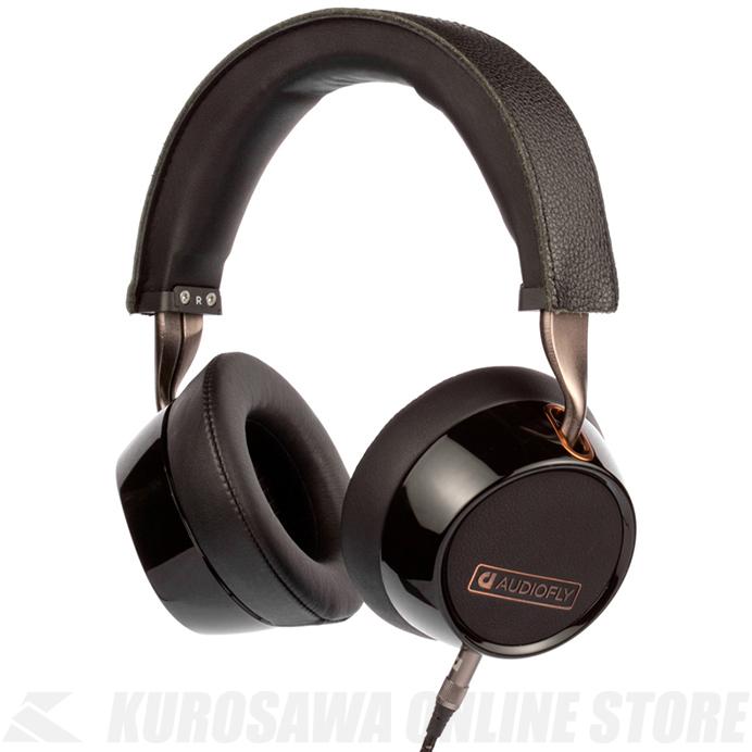 Audiofly Over-Ear Headphones AF240 Black w/mic [AF2401-1-01] (ヘッドフォン)(送料無料) 【ONLINE STORE】