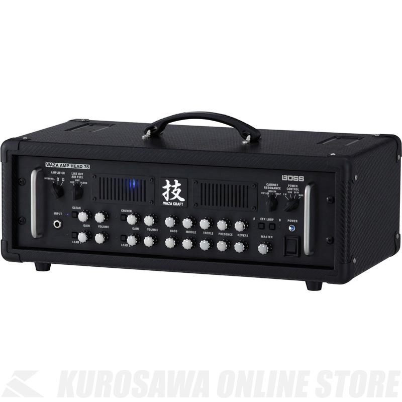 BOSS 技WAZA CRAFT WAZA-HD75 (ギターアンプ/ヘッドアンプ)(7月29日発売・ご予約受付中) 【ONLINE STORE】