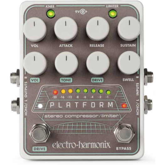 Electro-Harmonix Platform (エフェクター/ステレオコンプレッサー/リミッター) 【ONLINE STORE】