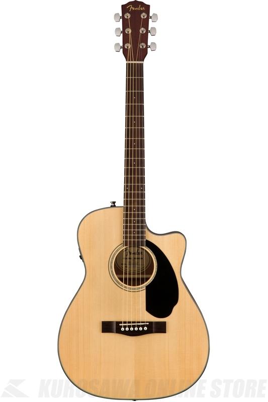 Fender CC-60SCE, Natural [0961710021] (アコースティックギター)(送料無料) 【ONLINE STORE】
