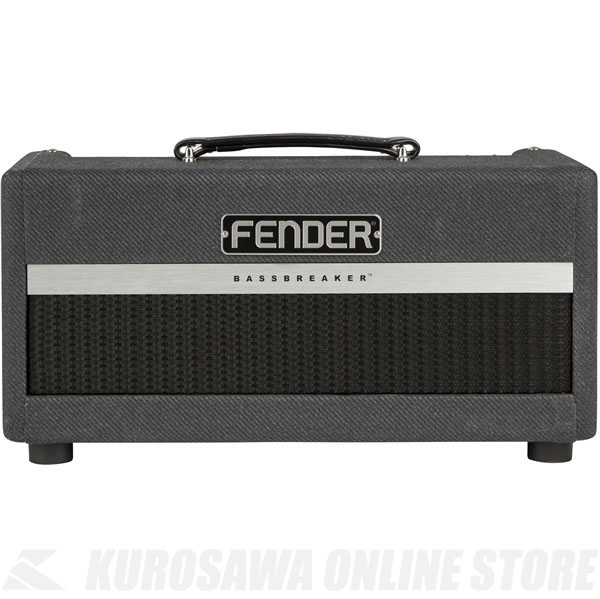 Fender Bassbreaker 15 Head, 100V JPN [No.2263007000] (ギターアンプ/ヘッドアンプ)(送料無料) 【ONLINE STORE】
