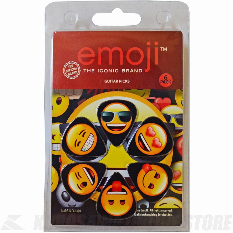 価格 ピック 《ペリーズ》 Perri's 感謝価格 LP-EMO1 6PICKS EMOJI STORE ネコポス GUY COOL ピック6枚セット ONLINE