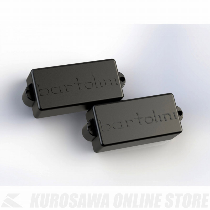 Bartolini Bass Pickups 5-String P-Bass タイプ オリジナル シリーズ Pair Single Coil Type 58S72 (ベース用ピックアップ)(送料無料) 【ONLINE STORE】