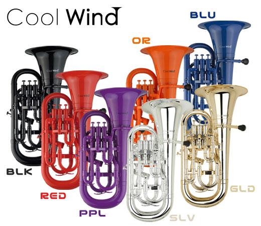 Cool Wind EU-200 BLK ブラック (プラスチック製ユーフォニアム)(送料無料)(ご予約受付中)【ONLINE STORE】