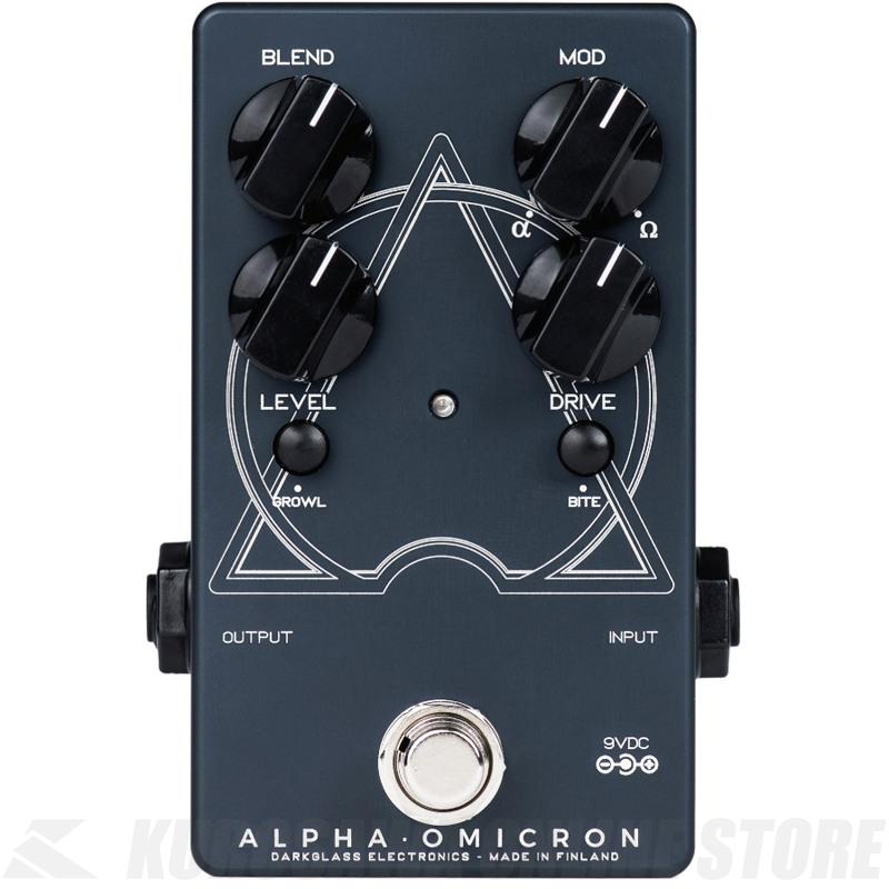 "Darkglass Electronics Alpha Omicron ""Beautifully Brutal"" (ベース用エフェクター/ディストーション)(送料無料) 【G-CLUB渋谷】"