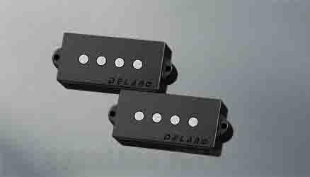 Delano Pickup PC-AL pickup series P- Bass style pu - AlNiCo 5 magnets PC 4 AL (ベース用ピックアップ)(送料無料) 【ONLINE STORE】