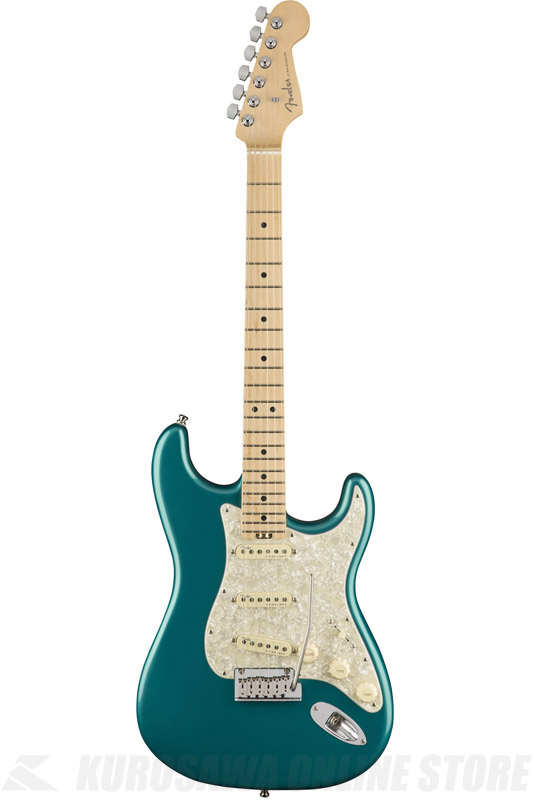 Fender American Elite Stratocaster , Maple Fingerboard, Ocean Turquoise (エレキギター/ストラトキャスター)(送料無料) 【ONLINE STORE】