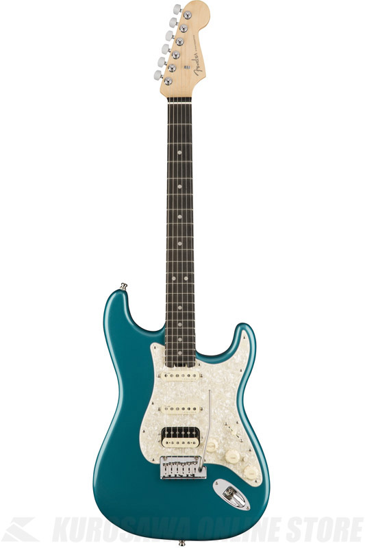 Fender American Elite Stratocaster HSS ShawBucker , Ebony Fingerboard, Ocean Turquoise (エレキギター/ストラトキャスター)(送料無料) 【ONLINE STORE】【2017冬キャンペーン】