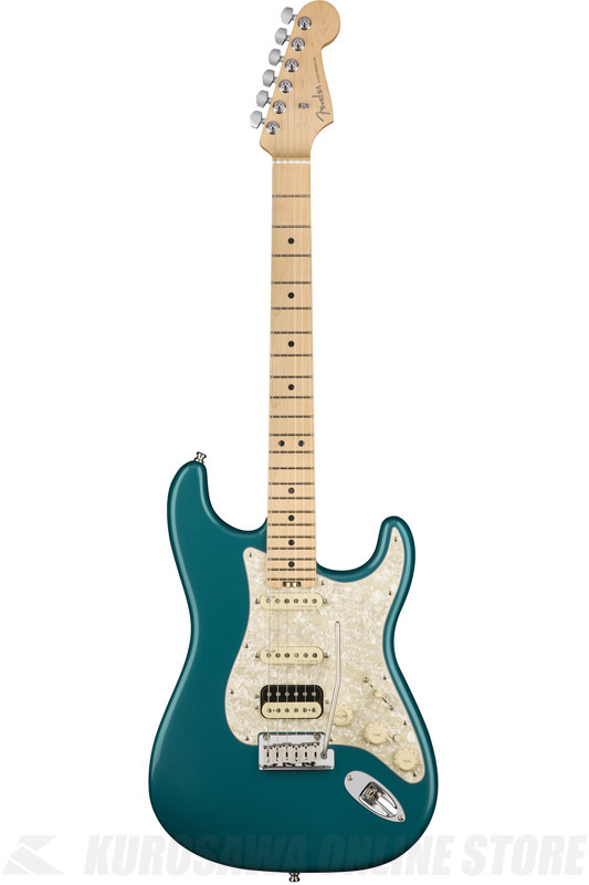 Fender American Elite Stratocaster HSS ShawBucker , Maple Fingerboard, Ocean Turquoise (エレキギター/ストラトキャスター)(送料無料) 【ONLINE STORE】
