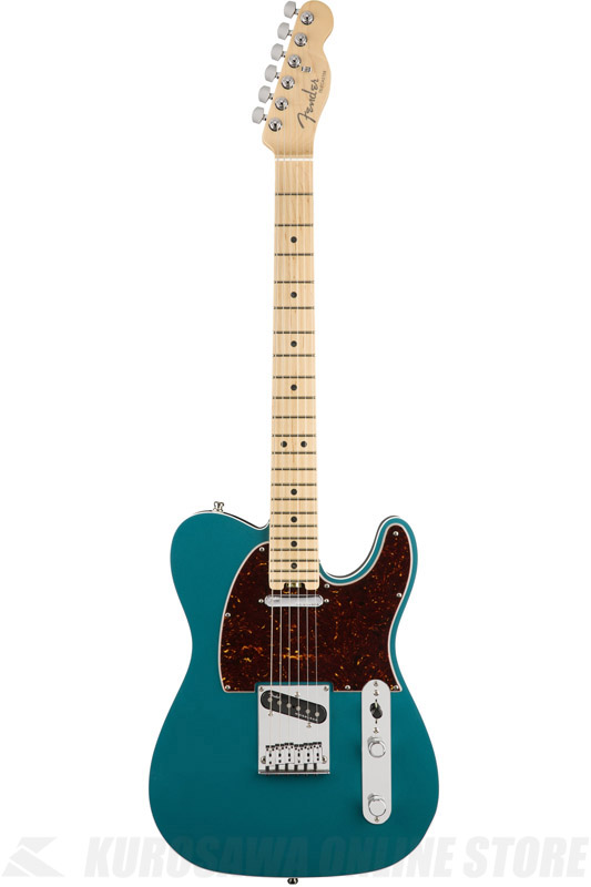Maple Elite (エレキギター/テレキャスター)(送料無料) Telecaster Fender STORE】 Ocean Fingerboard, 【ONLINE American , Turquoise