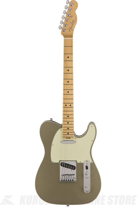 Fender American Elite Telecaster , Maple Fingerboard, Champagne (エレキギター/テレキャスター)(送料無料) 【ONLINE STORE】