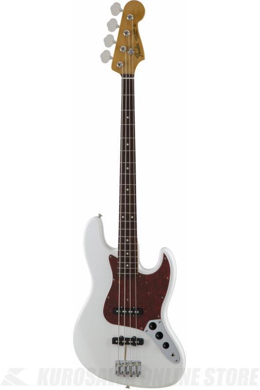 Fender Made in Japan Traditional MIJ '60s Jazz Bass , Rosewood, Arctic White [5350060380] (ベース/ジャズベース)(送料無料) 【ONLINE STORE】
