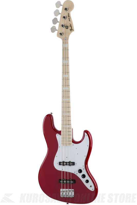Fender Made in Japan Traditional MIJ '70s Jazz Bass , Maple, Torino Red [5350072358] (ベース/ジャズベース)(送料無料) 【ONLINE STORE】