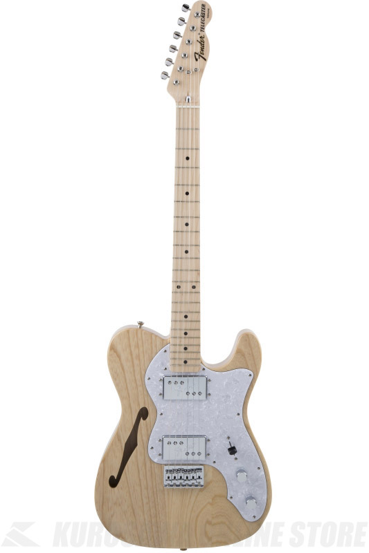 Fender Made in Japan Traditional MIJ '70s Telecaster Thinline, Maple, Natural [5352702321] (エレキギター/テレキャスター)(送料無料) 【ONLINE STORE】