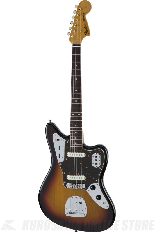 Fender Made in Japan Traditional MIJ '60s Jaguar , Rosewood, 3-Color Sunburst [5355600300] (エレキギター/ジャガー)(送料無料) 【ONLINE STORE】