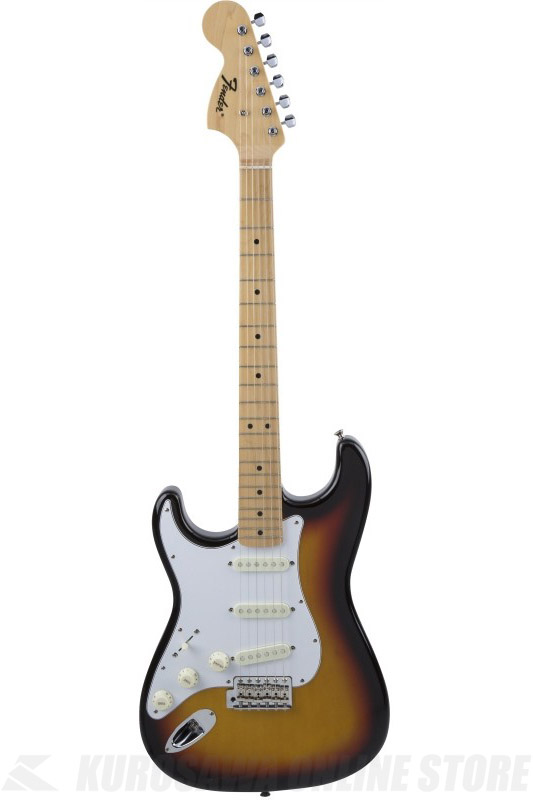 Fender Made in Japan Traditional MIJ '68 Stratocaster , Left-Hand, Maple, 3-Color Sunburst [5358600300] (エレキギター/ストラトキャスター)(送料無料) 【ONLINE STORE】
