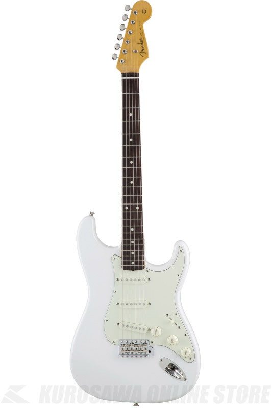 Fender Made in Japan Traditional MIJ '60s Stratocaster , Rosewood, Arctic White [5359600380] (エレキギター/ストラトキャスター)(送料無料) 【ONLINE STORE】