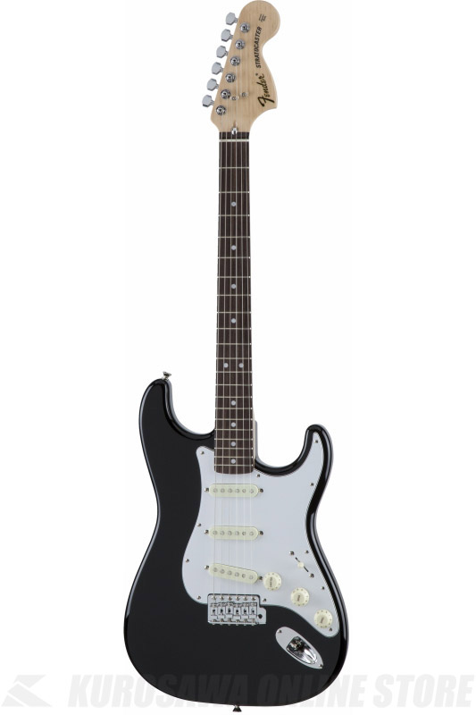 Fender Made in Japan Traditional MIJ '70s Stratocaster , Rosewood, Black [5359700306] (エレキギター/ストラトキャスター)(送料無料) 【ONLINE STORE】