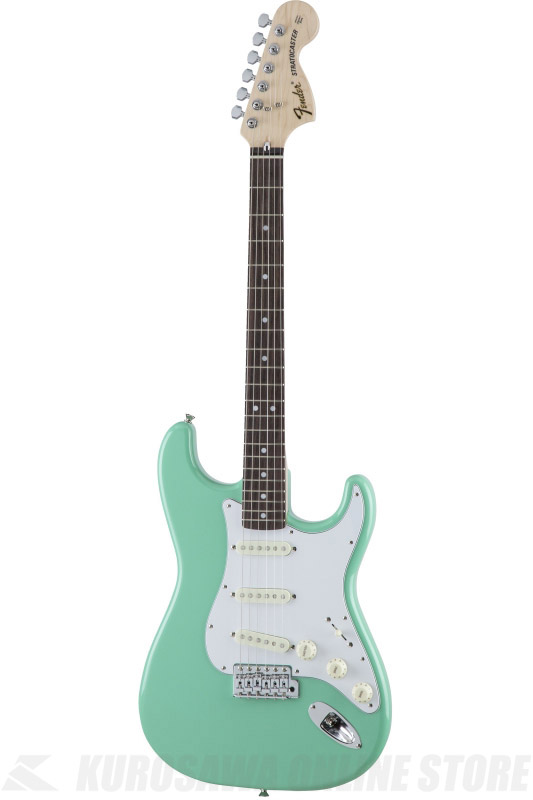 Fender Made in Japan Traditional MIJ '70s Stratocaster , Rosewood, Surf Green [5359700357] (エレキギター/ストラトキャスター)(送料無料) 【ONLINE STORE】
