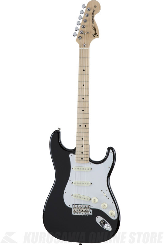 Fender Made in Japan Traditional MIJ '70s Stratocaster , Maple, Black [5359702306] (エレキギター/ストラトキャスター)(送料無料) 【ONLINE STORE】