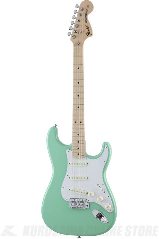 Fender Made in Japan Traditional MIJ '70s Stratocaster , Maple, Surf Green [5359702357] (エレキギター/ストラトキャスター)(送料無料) 【ONLINE STORE】