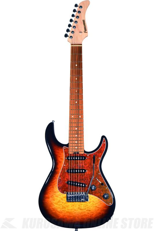 FERNANDES RT-7 3Tone Sunburst (7弦ギター/エレキギター)(送料無料) 【ONLINE STORE】