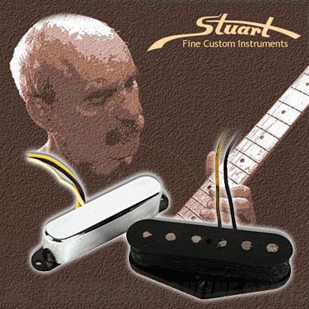 Stuart Fine Custom Instruments Black Guard Telecaster SET (ギター用ピックアップ)(送料無料) 【ONLINE STORE】