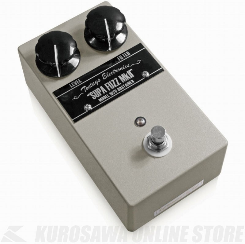 Toetags Electronics SUPA FUZZ MkII (エフェクター/ファズ)(送料無料) 【ONLINE STORE】