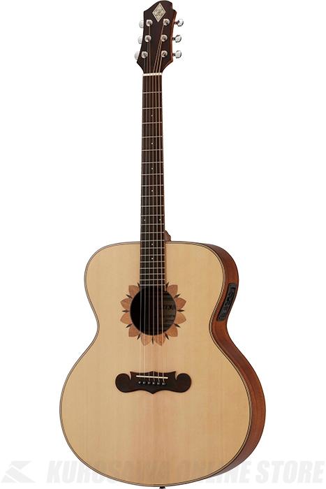 Zemaitis JUMBO CAJ-100FW-E-LH Left-hand (アコースティックギター/レフティ/エレアコ)(送料無料) 【ONLINE STORE】