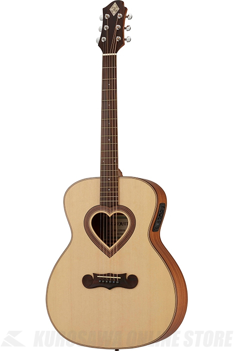 Zemaitis GRAND AUDITORIUM CAG-100HW-E-LH Left-hand (アコースティックギター/レフティ/エレアコ)送料無料) 【ONLINE STORE】