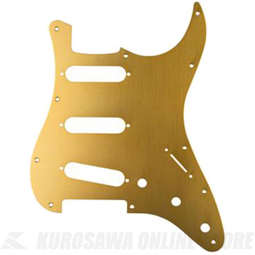 Fender Made In Japan Classic 60s Stratocaster 11-Hole 1-Ply Gold Anodized Pickguard Made in Japan Model (ピックガード/ストラトキャスター用)(送料無料) 【ONLINE STORE】