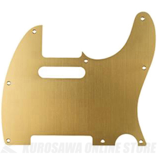 Fender Made In Japan Classic 60s Telecaster 8-Hole 1-Ply Gold Anodized Pickguard Made in Japan Model (ピックガード/テレキャスター用)(送料無料) 【ONLINE STORE】