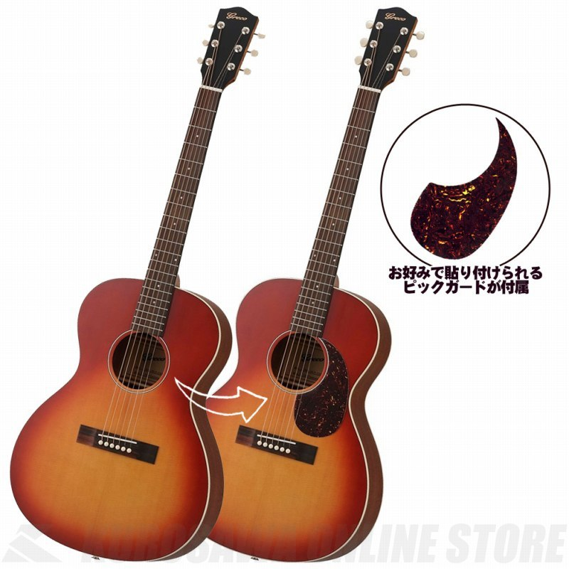 Greco GAL-30P CSB Cherry Sunburst (アコースティックギター/エレアコ)(送料無料) 【ONLINE STORE】
