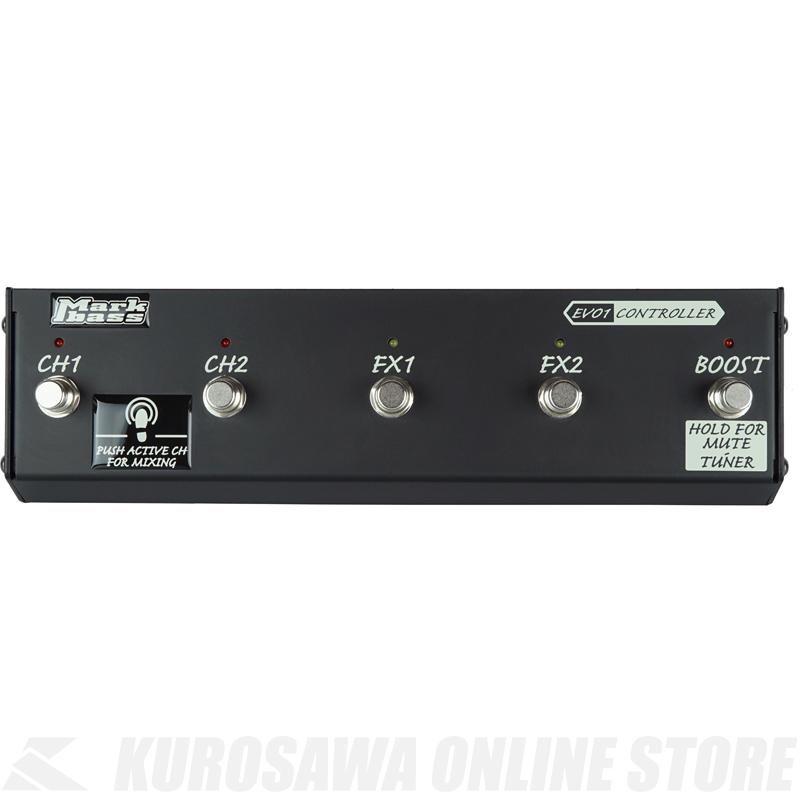 Markbass MB EVO1 Controller MAK-EVO1/CTR (Markbass EVO1 専用 MIDIフットコントローラー)(送料無料)(お取り寄せ)【ONLINE STORE】