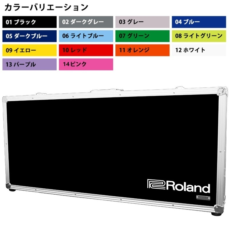 Roland TB-SYS8 SYSTEM-8用ハードケース (受注生産品)(送料無料)【ロゴの有無/カラーをお選び下さい】 【ONLINE STORE】